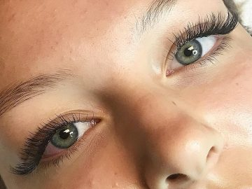Eyelash Extensions by Sara @ Florida Microblading