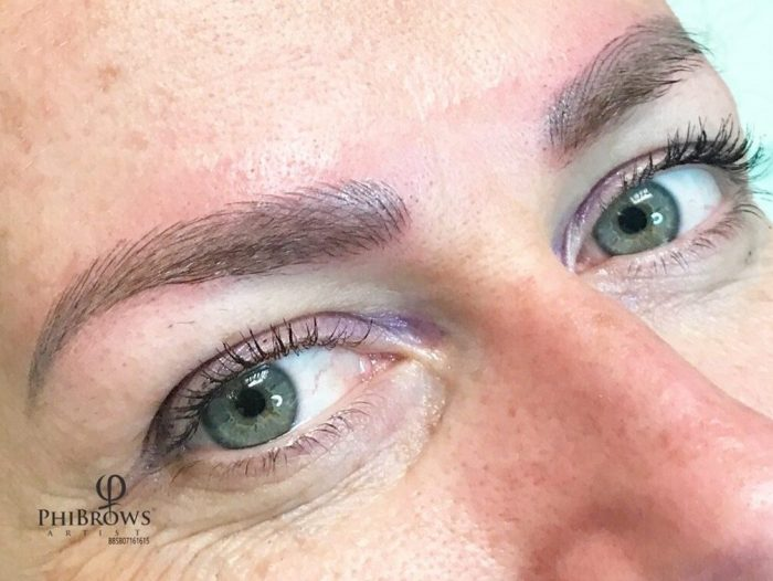 Semi Permanent Eyebrow Microblading Or Shading Florida Microblading